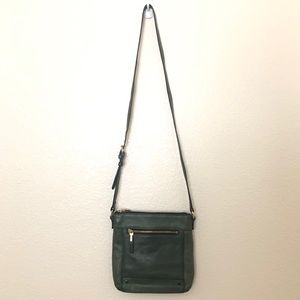 Vince Camuto Green Leather Crossbody